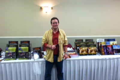 Stephen Chenault and the Troll Lord booht at Gary Con V