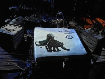 Drizzt's 25th birthday cake from Gen Con 2013