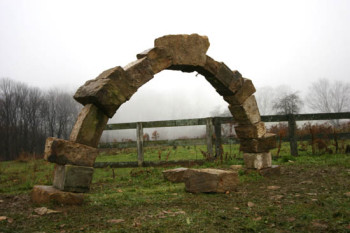 free-standing-dry-stone-arch