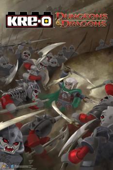 Dungeon Dragon Kre-o poster