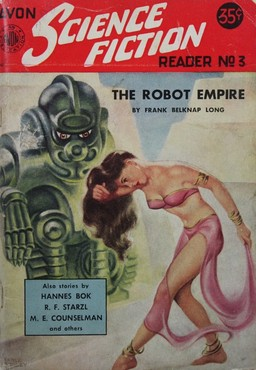 "Avon Science Fiction Reader #3, with ""The Robot Empire"" by Frank Belknap Long"