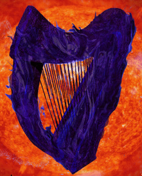 Black Fire Harp