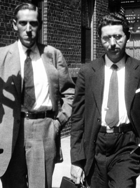 H.P. Lovecraft and Frank Belknap Long (Brooklyn, 1931)