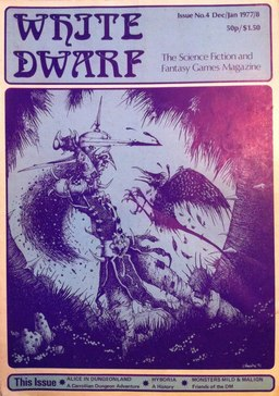 White Dwarf 4, with the Barbarian class