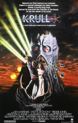 Krull movie poster-small