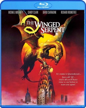 Q Winged Serpent Blu-ray Cover