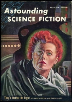 Astounding Science Fiction, August 1954