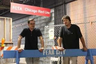 Fear City's evil geniuses Jim and Chuck