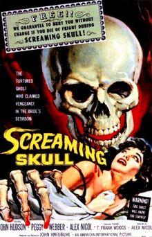 screaming skull cover