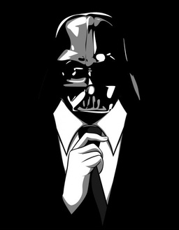 Darth Vader in a suit-small
