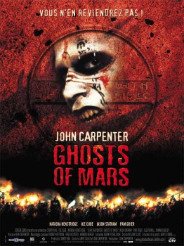 Ghosts of Mars French Poster