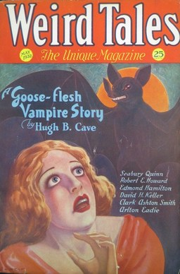 "Weird Tales, May 1932, containing ""The Vaults of Yoh-Vombis"""