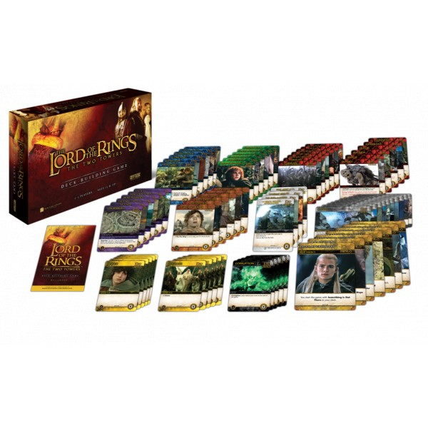 Lord Of The Rings Deck Building Game Two Towers