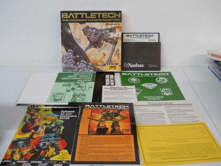Battletech The Crescent Hawk's Inception box contents-small