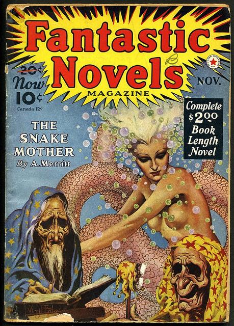 Famous Fantastic Mysteries v11 #1 Oct 1949 VG
