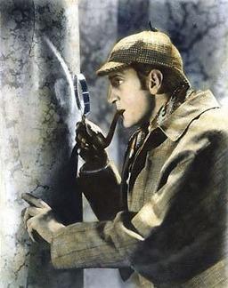 Sherlock Holmes dang it