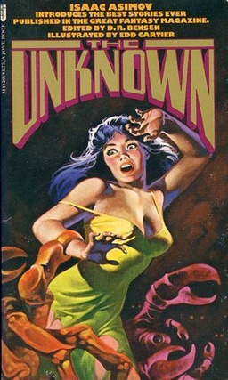 The Unknown edited by D R Bensen-small