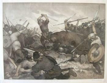 Hrolf Kraki's Last Stand