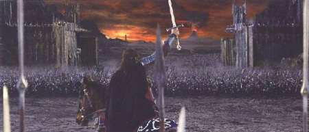 Aragorn at the Black Gate-small