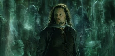 Aragorn in the Paths of the Dead