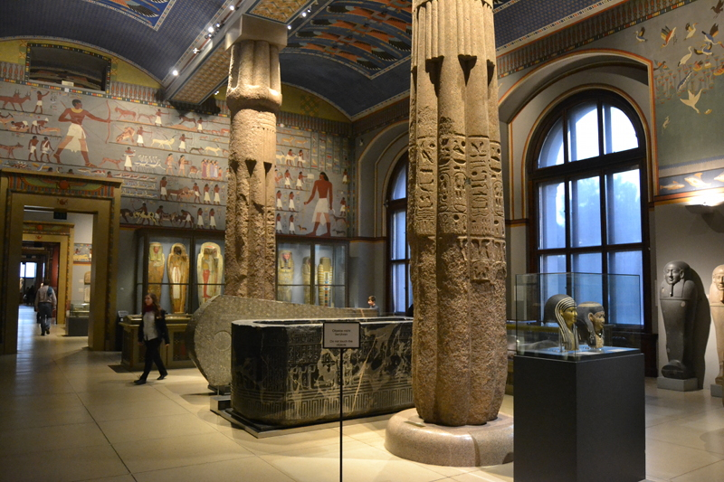 Besides the medieval galleries, there are excellent collections for Classical and Ancient Egyptian antiquities.