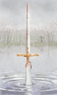 Excalibur and the Lady in the Lake-small
