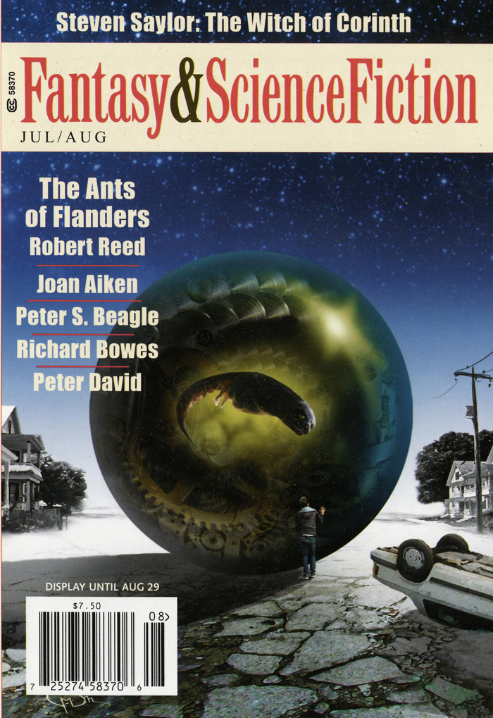 Kate Wilhelm. The Fullness of Time. (Fantasy & Science Fiction, July/August 2012)