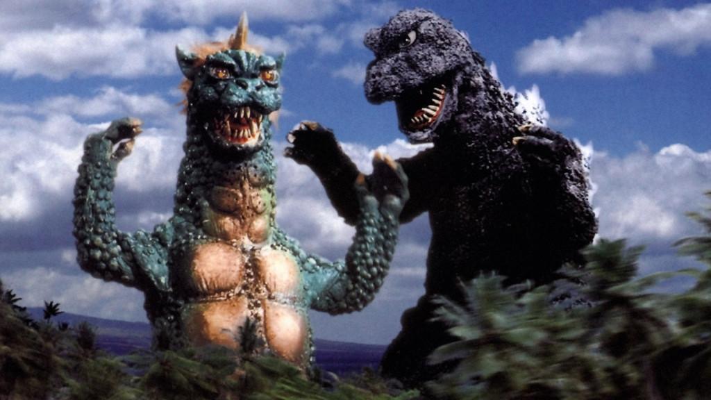 Godzilla and Gabara