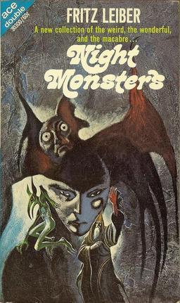 The Ace Double version of Night Monsters. Cover by Jack Gaughan