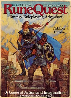 RuneQuest Deluxe 3rd edition, from Avalon Hill