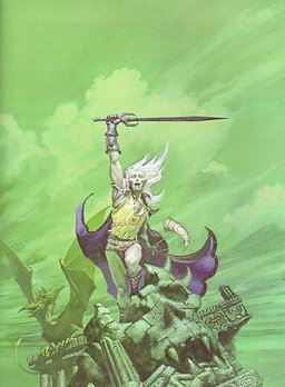 Stormbringer, by Michael Whelan