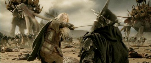 The Return of the King Eowyn and Witch-King