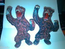 "Recent acquisition: vintage rubber bear ""jiggler"""