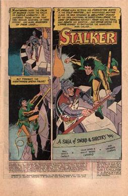 Stalker #1, page 1