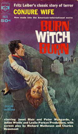 Burn Witch Burn Fritz Leiber-small