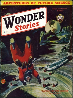 Wonder Stories, June 1933, containing