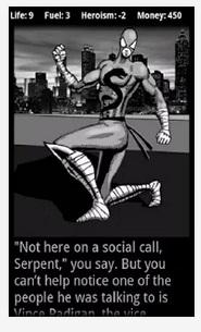 Serpent Teen, from Superhero's Choice