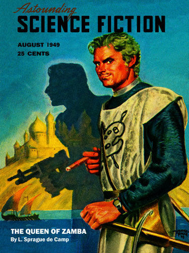 Astounding Science Fiction August 1949