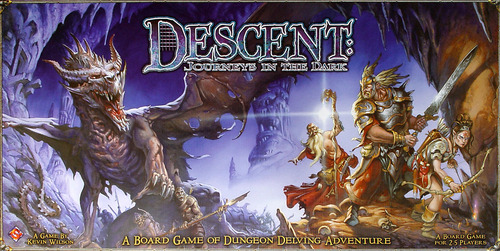 Descent Journeys in the Dark (First Edition)