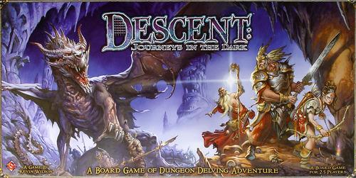 Descent Journeys in the Dark (First Edition)