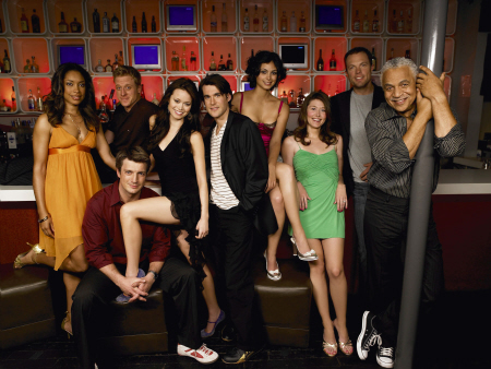 The Firefly cast, out of uniform