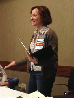 Mary Robinette Kowal reads at Capricon 2014-2-small