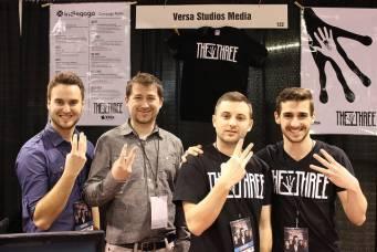 The gents of Versa Studios