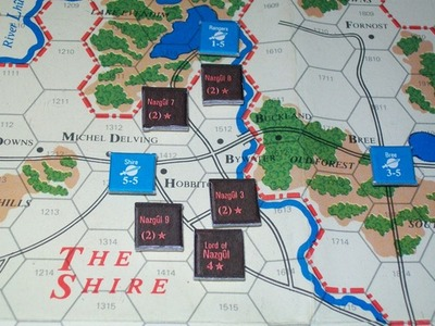 The Shire, from War of the Ring (SPI)-small