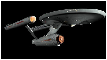 Doug Drexler's beautiful Enterprise.