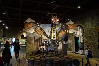 """The """"Munitions Dragon"""" at the Tower of London."""
