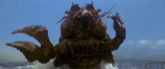 Ebirah Horror of the Deep Blu ray 1