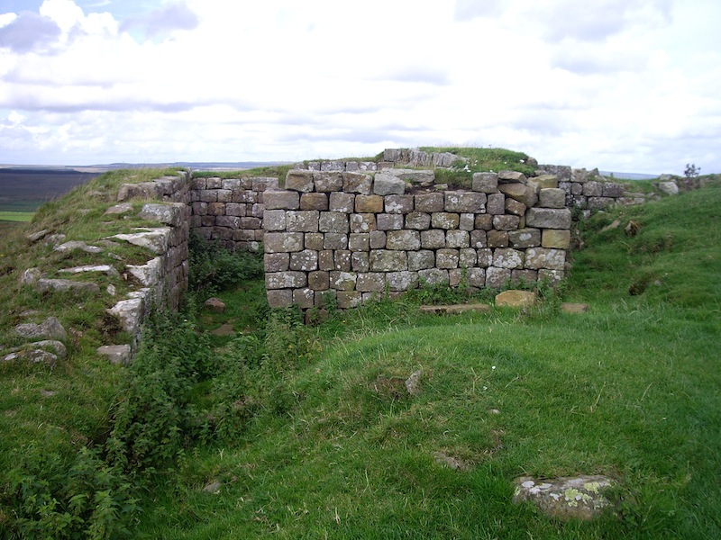 Part of a mile fort.