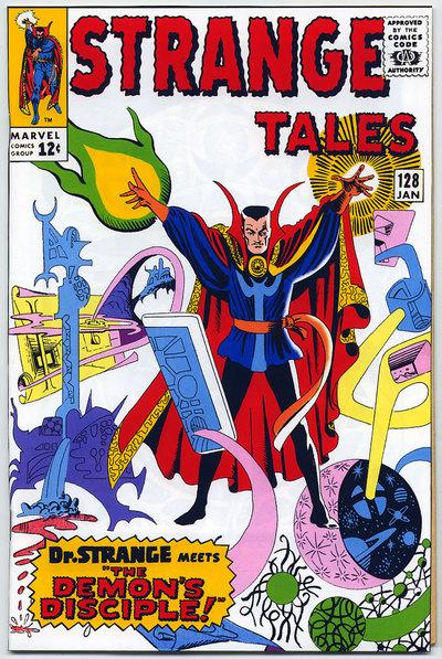 Strange Tales 128 Doctor Strange-small