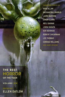 The Best Horror of the Year Volume Six-small